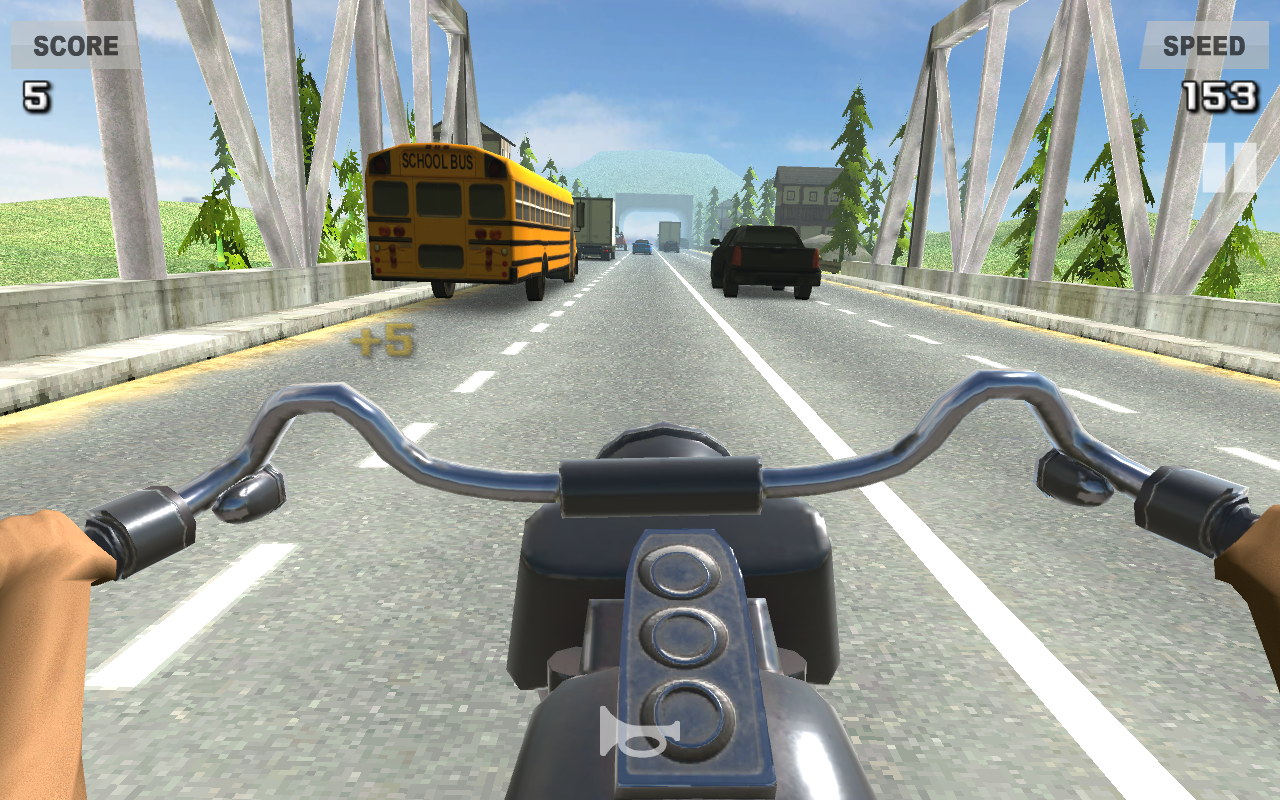 Riding in Traffic Online Screenshot 2
