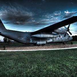 C-130 by Greg Bennett - Transportation Airplanes