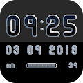 MONOO Digital Clock Widget APK for Ubuntu