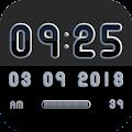 MONOO Digital Clock Widget APK for Ubuntu