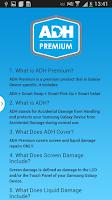 Screenshot of Samsung ADH Premium