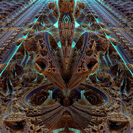 New Beginnings by Rick Eskridge - Illustration Abstract & Patterns ( patterns, tribute, mb3d, fractal, twisted brush )