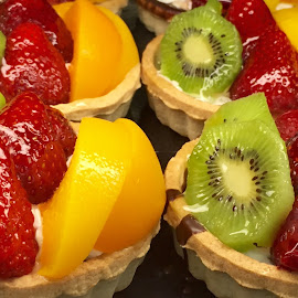 Fruit Mini Tarts by Lope Piamonte Jr - Food & Drink Candy & Dessert