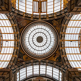 Sky by Moises Paquete - Buildings & Architecture Architectural Detail ( leeds, uk, ceiling, paintings )