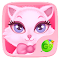 Pink Kitty GO Keyboard Theme 3.87 Apk