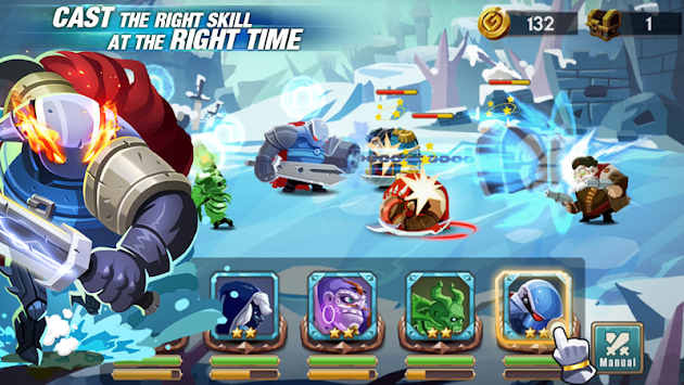 We Heroes - Born To Fight APK screenshot thumbnail 2