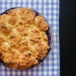 Uncle Mike's Blueberry Cobbler