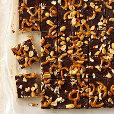 Chocolate-Peanut Butter Crunch Bars