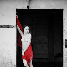 Red  by Todd Reynolds - Nudes & Boudoir Artistic Nude