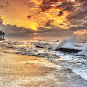 Motion sunrise by I Gusti Putu Purnama Jaya - Landscapes Sunsets & Sunrises