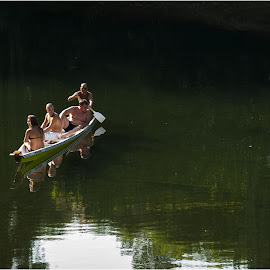Vrbas story by Dragan Dervisevic - People Family ( water, holiday, nature, boat )