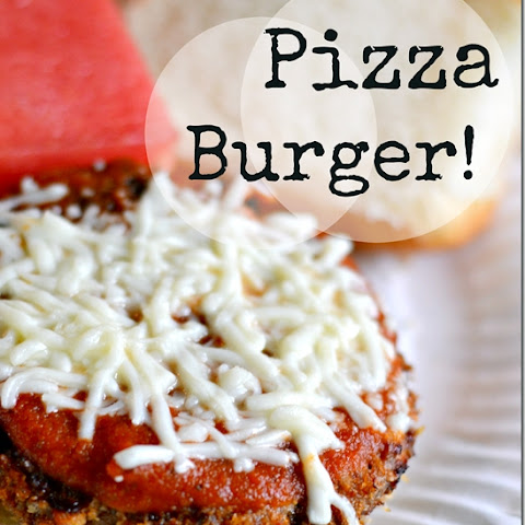 Pizza Burgers with Frozen Hamburger Patties