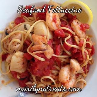 Italian Seafood Fettuccine Recipes