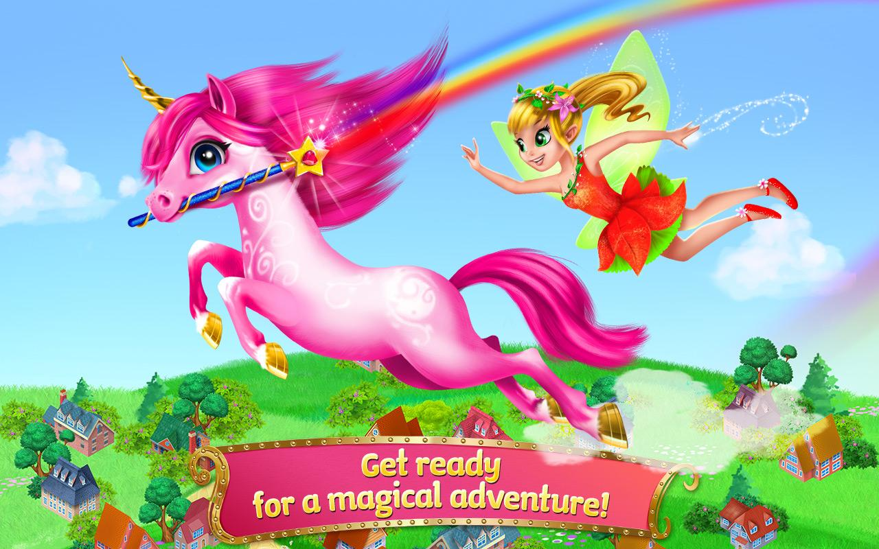 Princess Fairy Rush Screenshot 4