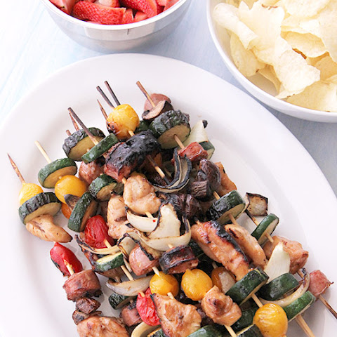 Honey Chicken Shish Kabob Skewers