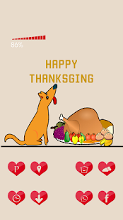 The Thanksgiving Food - screenshot
