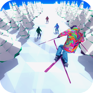 Racing in Mountain Ski 2019: Top Hill Skiing Racer For PC / Windows 7/8/10 / Mac – Free Download