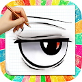 Download How to draw Anime Eyes APK on PC