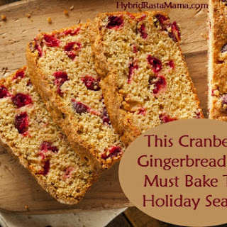 Cranberry Gingerbread