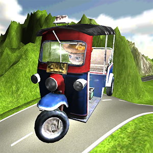 Tuk Tuk Racing On The Road APK