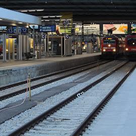 by Adriana Popescu - Transportation Trains