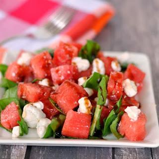 Watermelon Goat Cheese Balsamic Vinegar Recipes