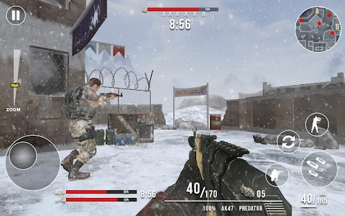Rules of Modern World War Winter FPS Shooting Game Screenshot