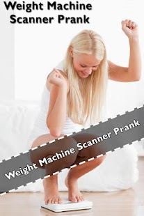 App Weight Machine Scanner Prank apk for kindle fire
