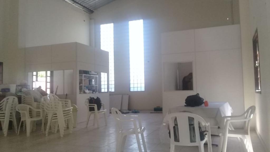 Galpão comercial para venda e locação, Três Pontes, Itaboraí.
