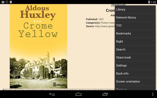 EBook Reader & EPUB Reader screenshot 1
