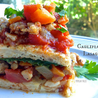 Cauliflower Lasagne