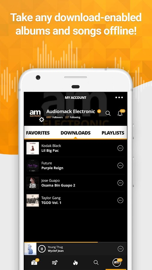 Audiomack Mixtapes & Music App Screenshot 0