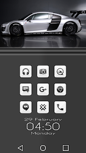 Azer Gray - Icon Pack - screenshot
