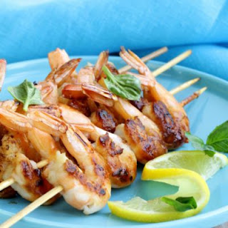 Quick and Easy Shrimp Skewers