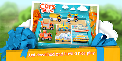 Screenshot of Cars in Gift Box (app 4 kids)