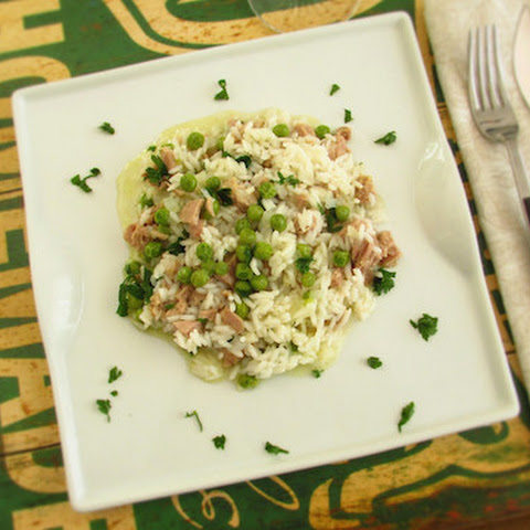 Rice With Tuna And Peas