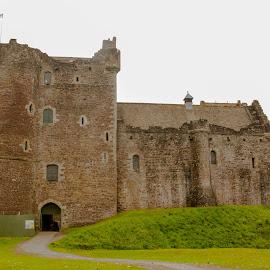 Doune by Jennifer  Loper  - Buildings & Architecture Public & Historical ( holy grail, castle, doune, monty python, stirling district, scotland )