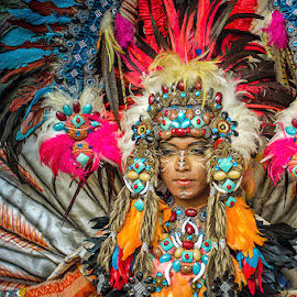 The Carnival by Dikky Oesin - People Musicians & Entertainers ( carnival, show, feathers, entertainer )