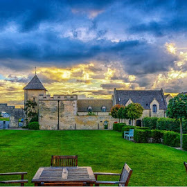 Ellenborough Park by Graham Davey - Buildings & Architecture Other Exteriors ( sky, park, wedding, cloud, ellenborough )