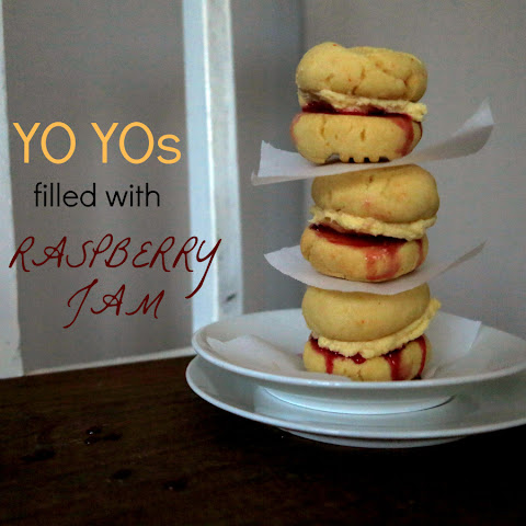 YO YOs FILLED WITH RASPBERRY JAM