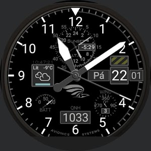 Aviator / Pilot Watch Face QNH