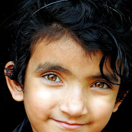 Brown eye by Asif Bora - Babies & Children Child Portraits