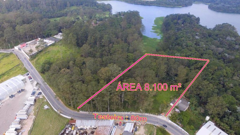 Terreno comercial à venda com 8100m² em São Bernardo do Campo.