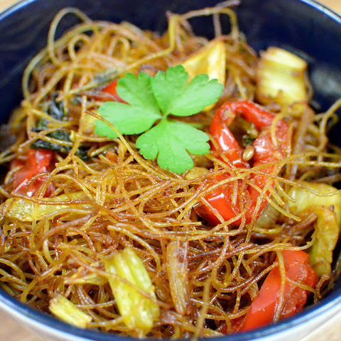 Spicy Singapore Glass Noodles