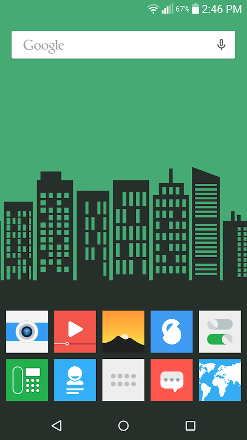 Flatout Minimal IconPack Theme Screenshot 4