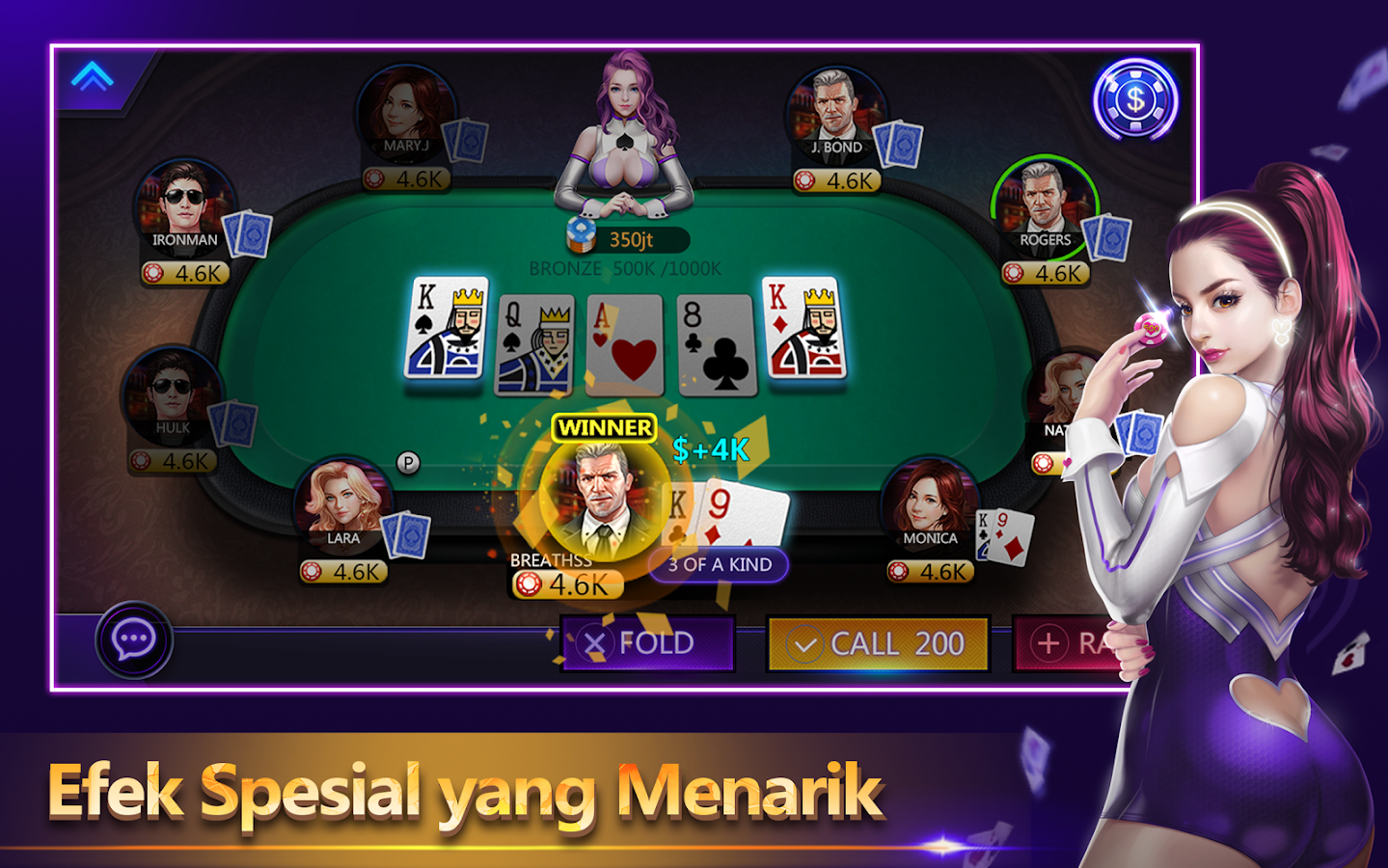 Poker Time -Pulsa Texas Holdem Screenshot 3