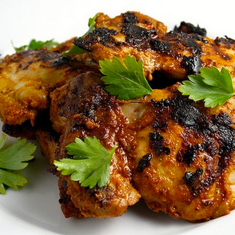 Grilled Sriracha Barbecue Chicken