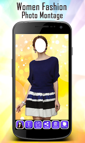 android Women Fashion Photo Montage Screenshot 3