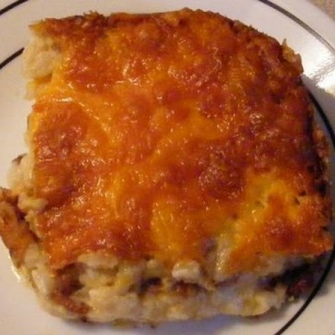 Easy Bacon and Potato Casserole