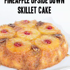 Pineapple Upside Down Skillet Cake